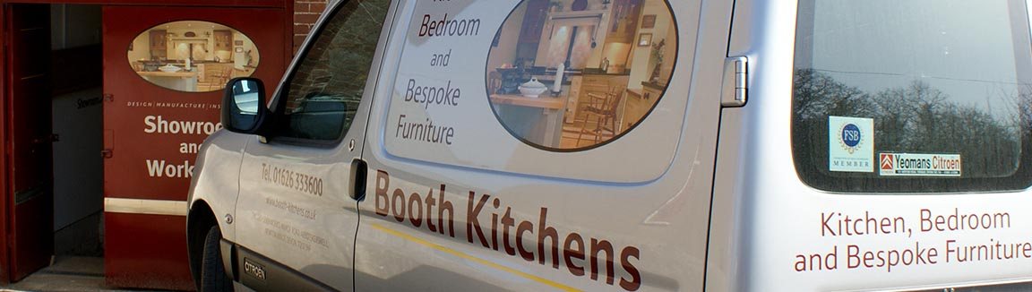 Bespoke Kitchens, Bedroom and Offices designed built and installed by Peter Booth Kitchens
